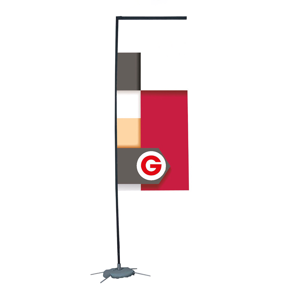 Bandera rectangular 80x300